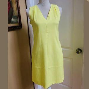 Banana Republic Yellow Midi Dress 2